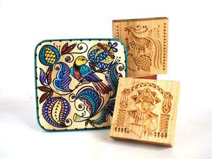 Расписываем шкатулку для пряничных форм. Ярмарка Мастеров - ручная работа, handmade.