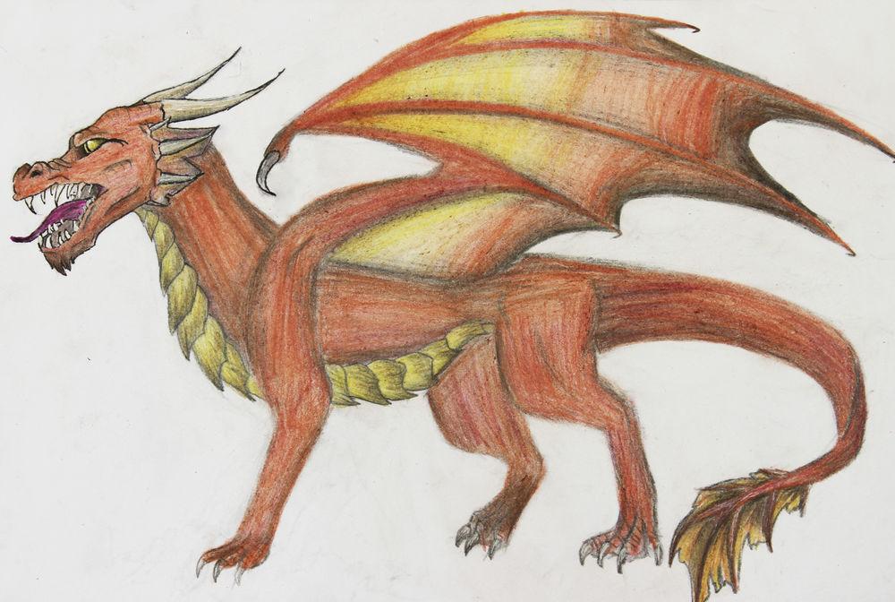 драконы, рисунки драконов