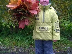 Осенняя прогулка. Ярмарка Мастеров - ручная работа, handmade.