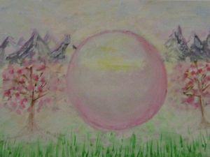 Картина Сфера света.. Ярмарка Мастеров - ручная работа, handmade.