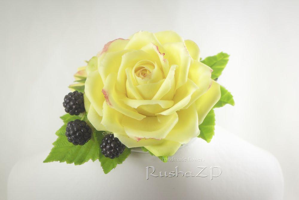 цветы из глины, украшение интерьера, подарок на святого валентина