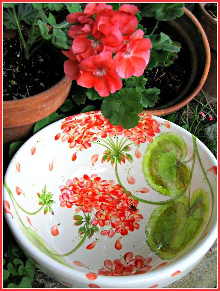 Geraniums...always...always!