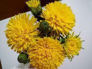 Леплю цветы к весеннему букету:) | Ярмарка Мастеров - ручная работа, handmade