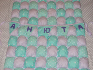 Шьем бомбон-одеяло своими руками | Ярмарка Мастеров - ручная работа, handmade