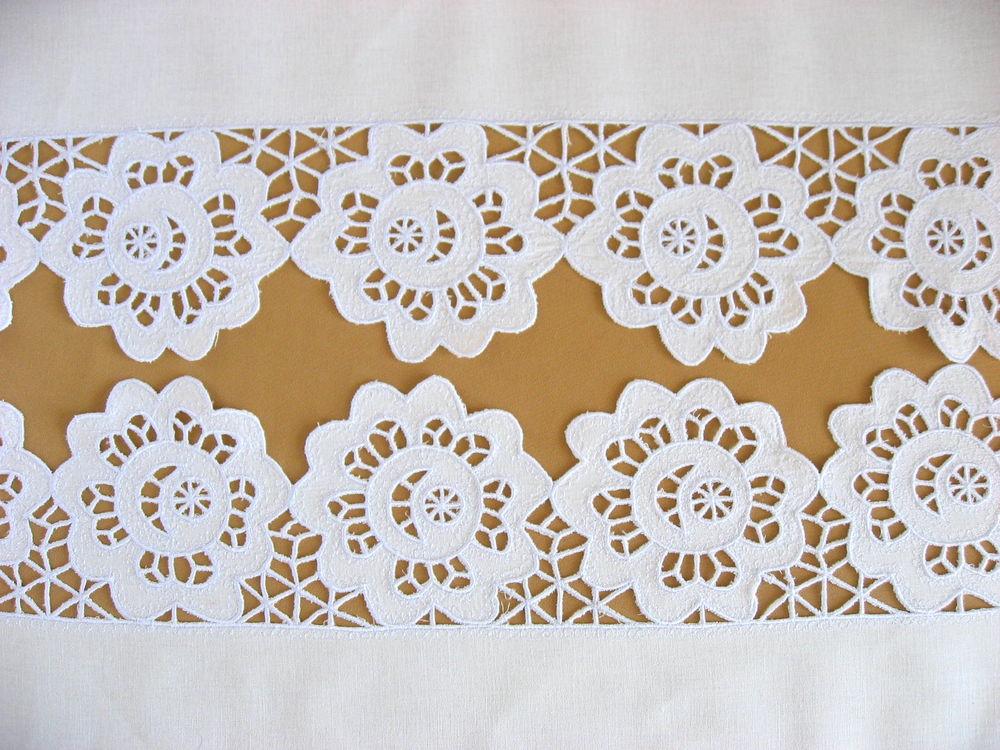 украшение кровати, вышивка ришелье, русский стиль, ручная работа, декор интрьера