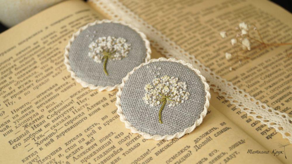 брошь брошка брошки, брошь цветок, изделия ручной работы, вышивка на заказ, трудовые будни