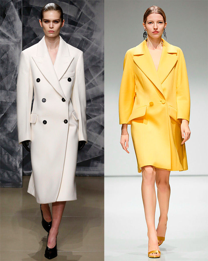 Модное пальто осень 2017 стили фасоны