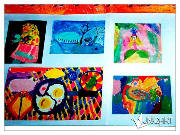 творчество с детьми, детское творчество, семейный очаг, учимся рисовать