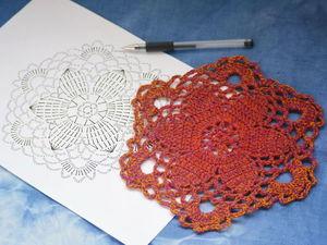 Вяжем крючком цветочный кардиган. Ярмарка Мастеров - ручная работа, handmade.