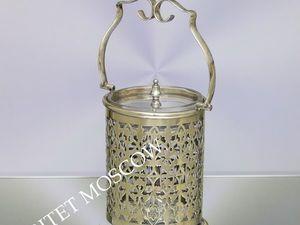 Редкость Сахарница серебрение Epns Англия 15 | Ярмарка Мастеров - ручная работа, handmade