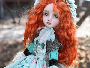Кукла Есения. Моя весна! | Ярмарка Мастеров - ручная работа, handmade