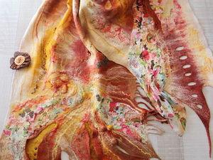 Предновогодняя распродажа шарфов и палантинов. Ярмарка Мастеров - ручная работа, handmade.