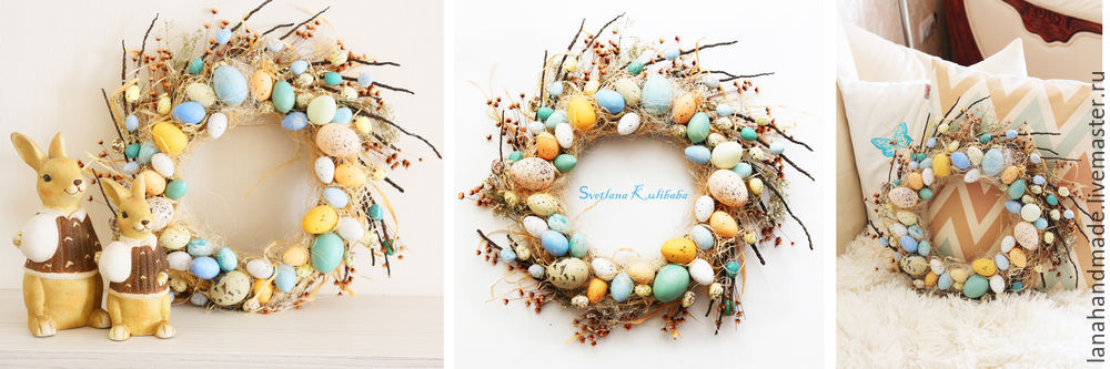 Create an Easter Wreath with Your Own Hands!, фото № 11
