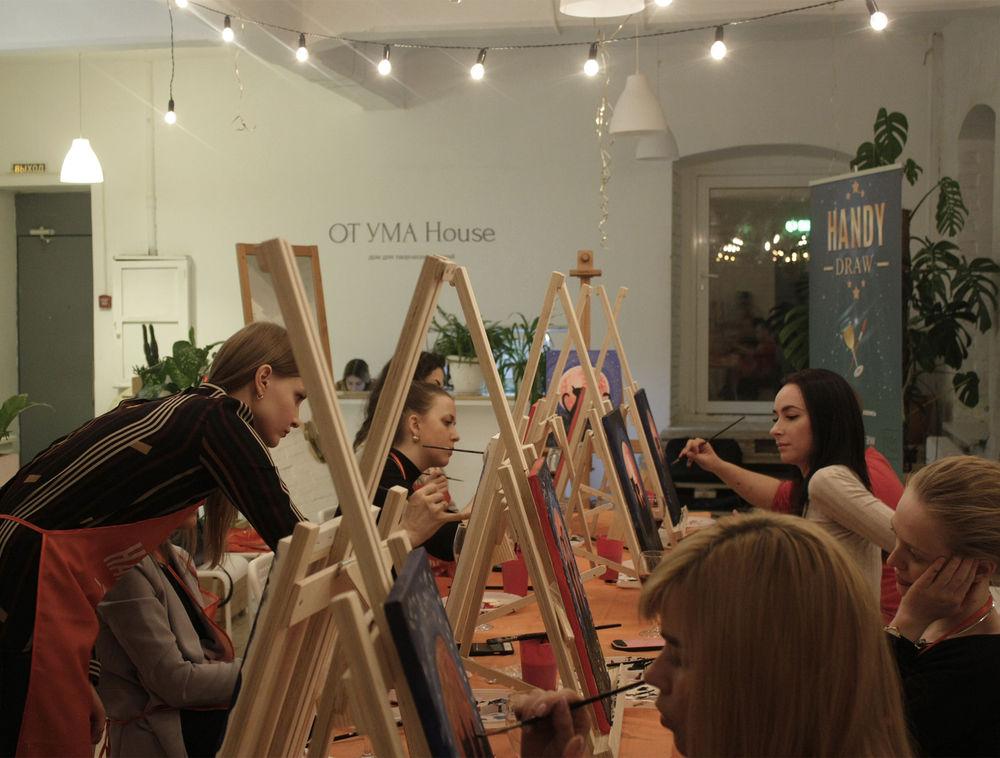 мастер-класс, арт-вечеринка, рисование
