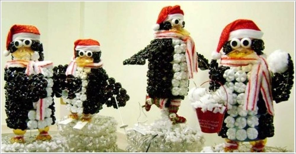 Christmas Decorations from Recycled Materials, фото № 20