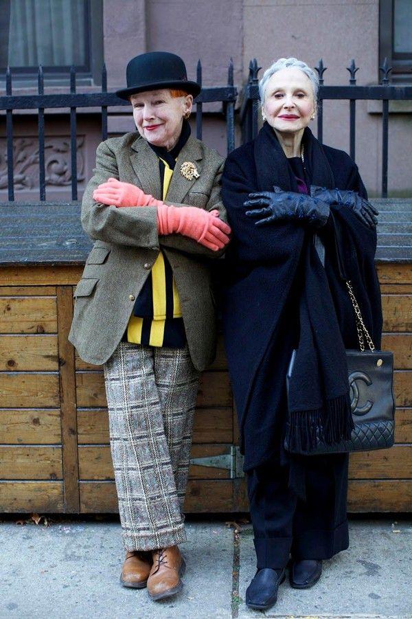 модные бабушки