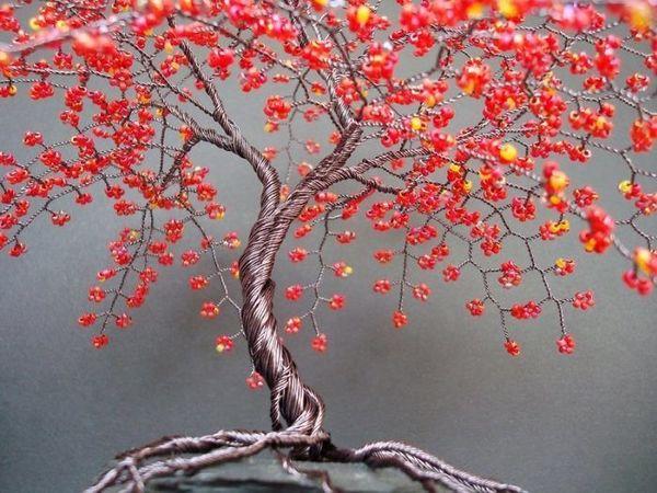 Скоро мастер-класс по бисерным деревьям! | Ярмарка Мастеров - ручная работа, handmade