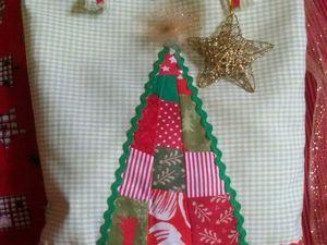 Подарочная новогодняя упаковка-сумка. Ярмарка Мастеров - ручная работа, handmade.