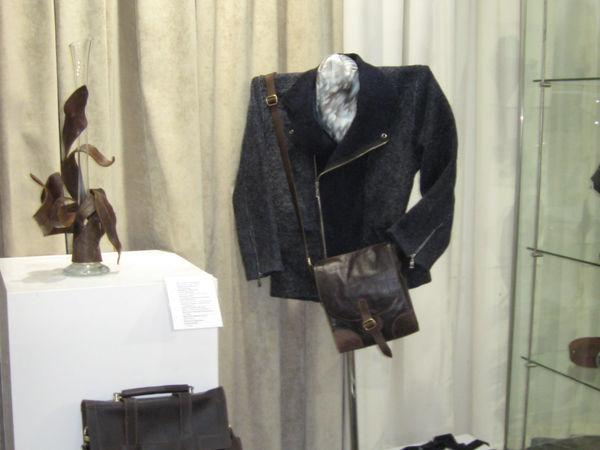 Мужская валяная куртка