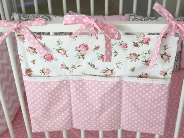 Как сшить кармашки на детсткую кроватку | Ярмарка Мастеров - ручная работа, handmade