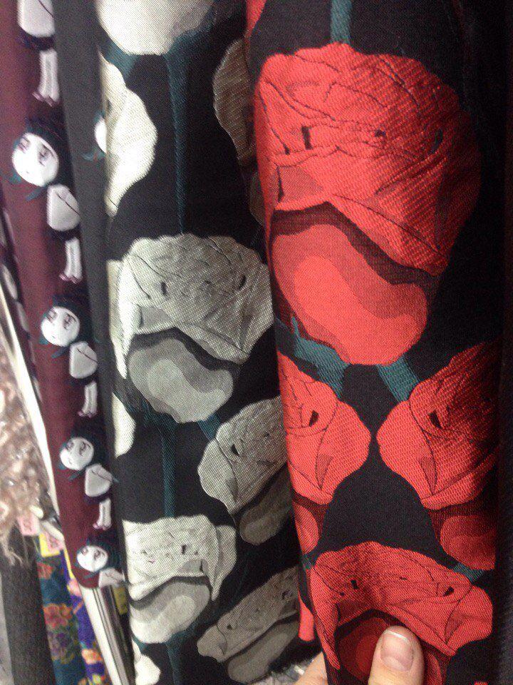 юбка со складками, жаккард, юбка мини, юбка миди