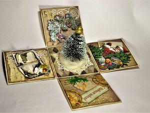 Набор из 3 открыток - дешевле! | Ярмарка Мастеров - ручная работа, handmade