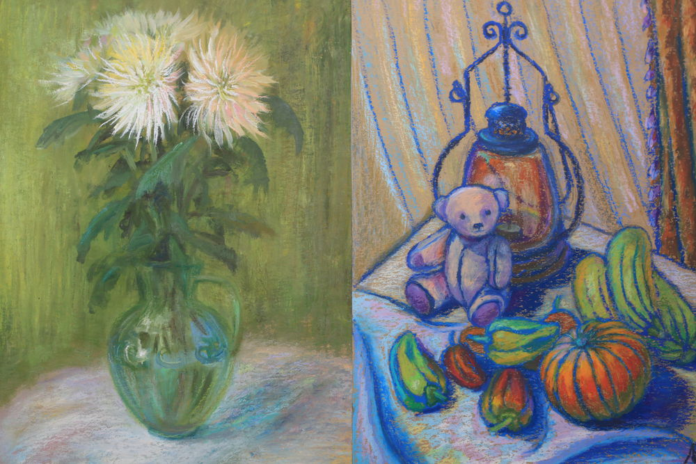картины, картина в подарок, картина пастелью
