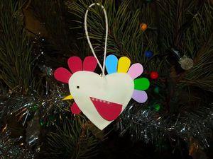 Делаем с ребенком веселого петушка на елку. Ярмарка Мастеров - ручная работа, handmade.