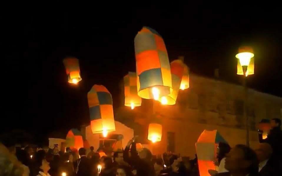 Празднование Пасхи в греческом городке Леонидио