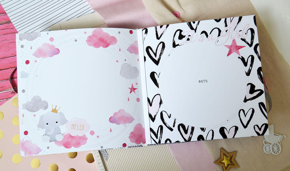 Фотоальбом для девочки с рождения и до 5 лет., фото № 16