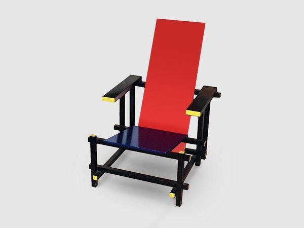 Из истории мебели. Классика неопластицизма-