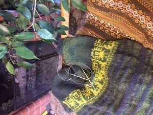 Готовится новинка: свитер-пончо с кисточками!. Ярмарка Мастеров - ручная работа, handmade.
