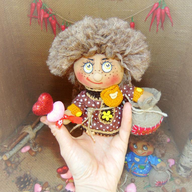 Гномка с Гномом +подарок и бесплатная доставкапо РФ до 23 мая, фото № 4