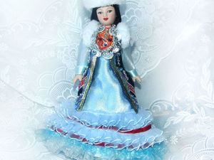Башкирки — мои куклы, особенности башкирского народного костюма. Ярмарка Мастеров - ручная работа, handmade.