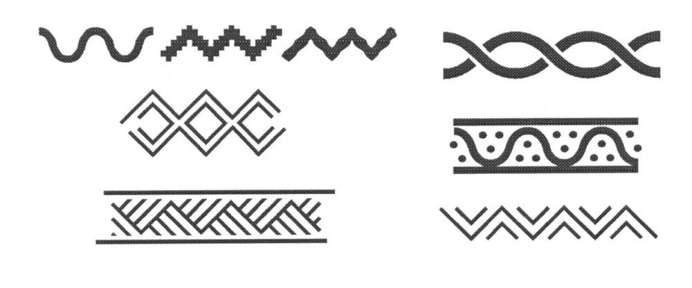славянские символы, иголочка символ