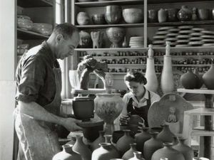 69 счастливых лет: творческий союз супругов Mary and Edwin Scheier и их совместные творения из глины. Ярмарка Мастеров - ручная работа, handmade.