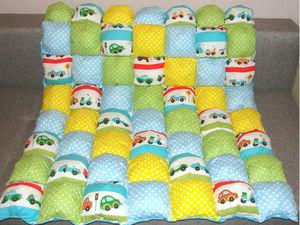 Акция Скидка 30% на бомбон-одеяло или коврик для игр!. Ярмарка Мастеров - ручная работа, handmade.