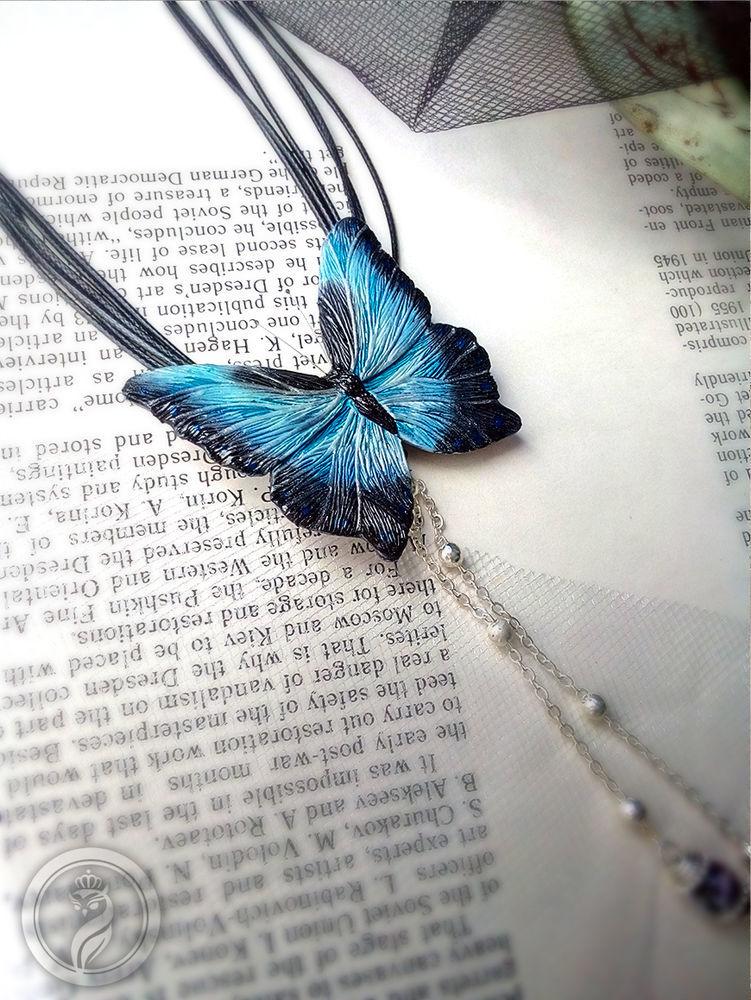Создаем реалистичную бабочку «Морфо» из полимерной глины Подробности по записи вебинара ищите в описании ниже, фото № 2