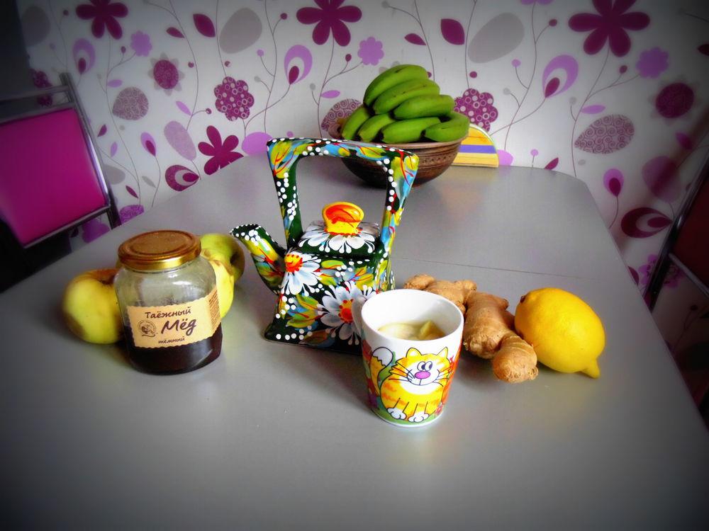имбирь, холод, осень, жкх, имбирный чай, мед, лимон, мелисса, рецепт, рецепты