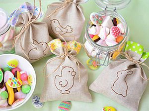 How to Sew Sweet Easter Gift Bags. Livemaster - handmade