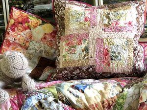 Шьем лоскутное одеяло из блоков крейзи. Часть 7. Обрезка и окантовка. Ярмарка Мастеров - ручная работа, handmade.