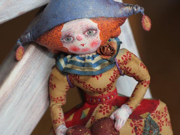 Расписная, запекаемая кукла из текстиля. | Ярмарка Мастеров - ручная работа, handmade