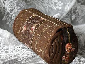 Шьем красивую косметичку из ткани для пэчворка. Ярмарка Мастеров - ручная работа, handmade.