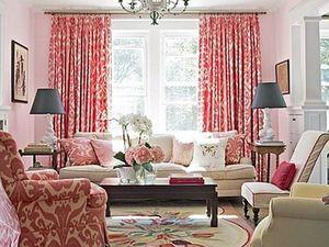 Такой спорный розовый цвет в интерьере. Ярмарка Мастеров - ручная работа, handmade.