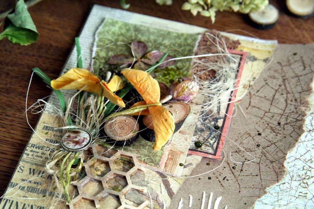 Мастер класс открытки из природного материала, годовщиной свадьбы