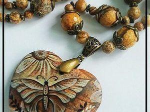 Розыгрыш кулона от Марины Захаровой. Ярмарка Мастеров - ручная работа, handmade.