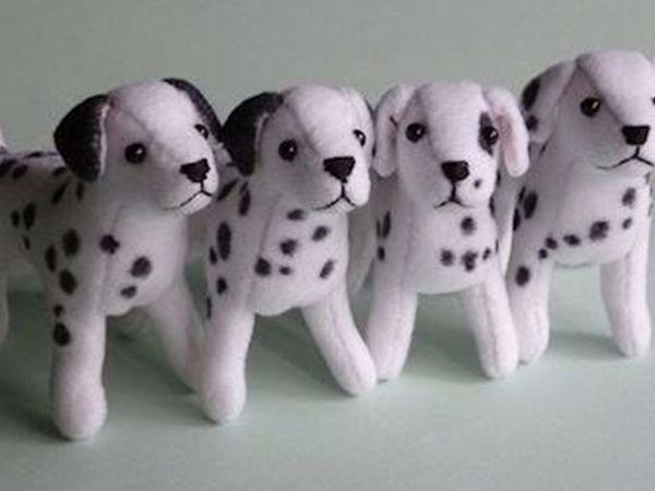 МК по забавным собачкам | Ярмарка Мастеров - ручная работа, handmade