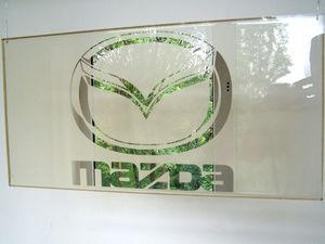 зеркало логотип мазда. Ярмарка Мастеров - ручная работа, handmade.