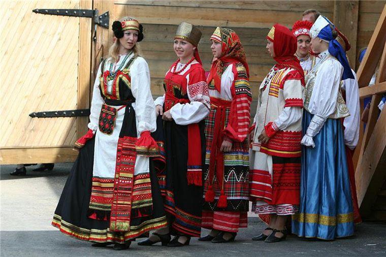 женская народная одежда