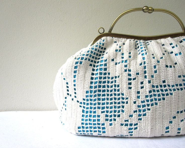 upcycled doily purse